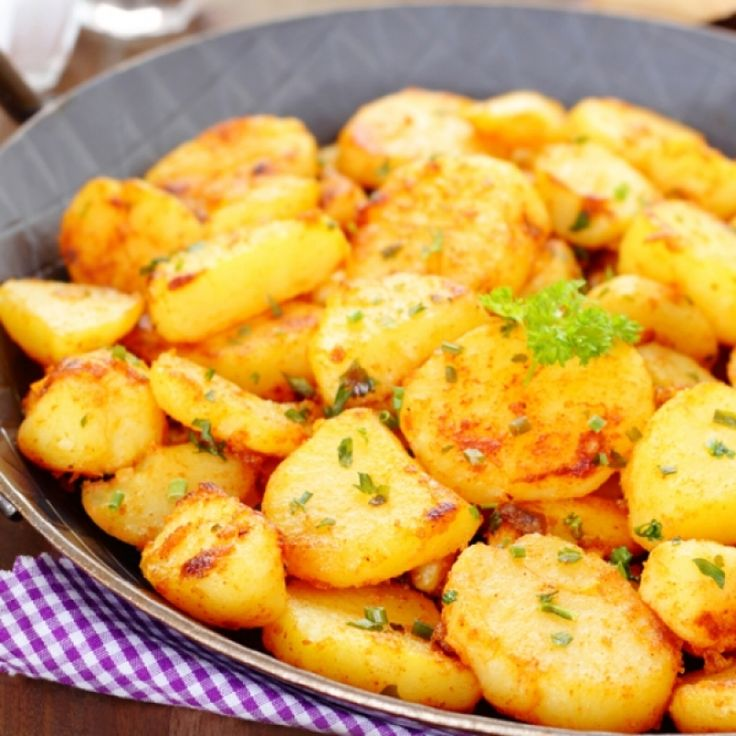 A Delicious Recipe For Crispy Pan Fries Baby Potatoes