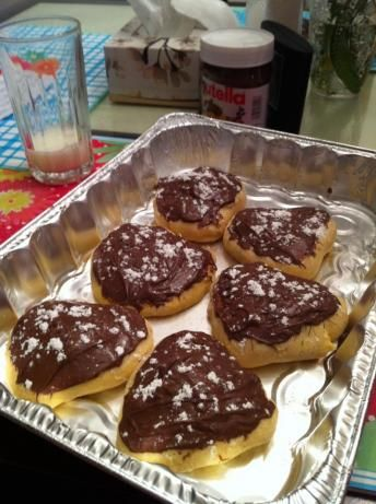 Yes,  after being back in Lancaster County PA,  I'm craving Peanut butter filled doughnuts with chocolate icing.