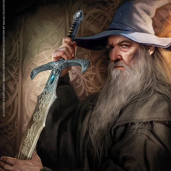 Gandalf the Grey by Magali Villeneuve