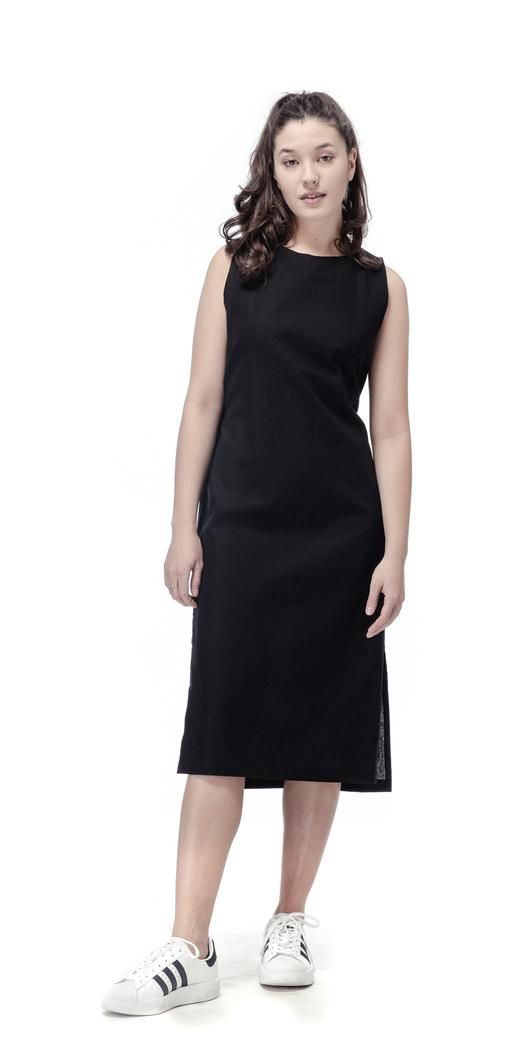 LUCI Black Minimal Šaty