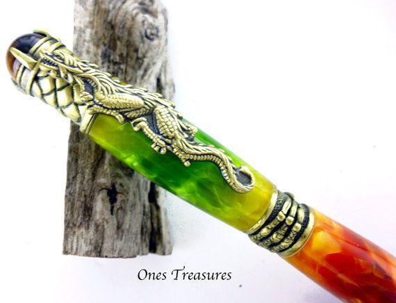 Pen Pens Handcrafted Pen Ballpoint pen Custom pen by onestreasures