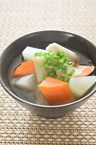 根菜の和風デトックススープ 一番出汁&根菜の香りを楽しむ! by 豊田 ...