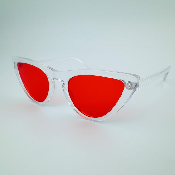 Nikita Studios - The GIGI shades are made from premium clear cellulose acetate & have red scratch resistant-lenses