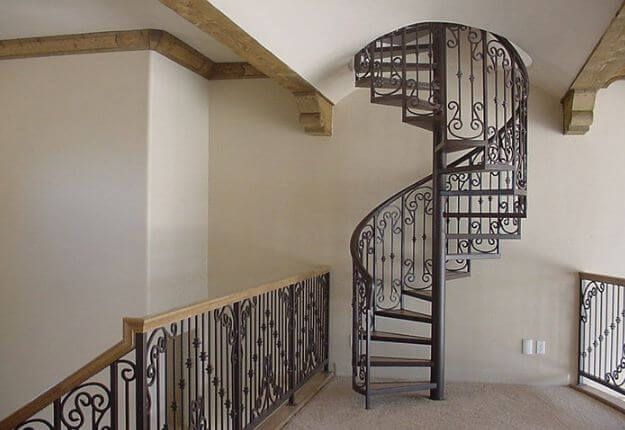 Iron Ladder 70 Amazing Templates To Inspire Your Design In 2020 | Modern House Ladder Design | Inside Outside | Metal Balustrade | Loft | Outdoor Balcony | Beautiful