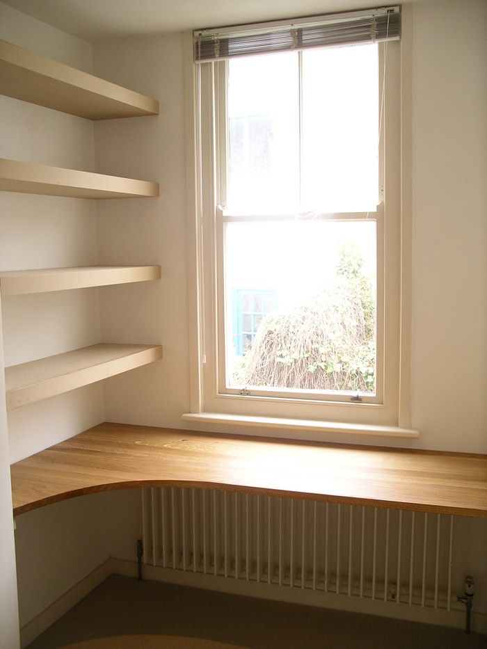 Fitted Home Office In Oak   Peter Henderson Furniture, Brighton, UK