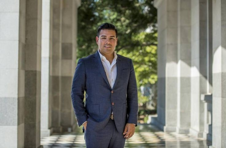 Senator Ricardo Lara, D-Bell Gardens, at the state Capitol in August 2016. Lara requested that the state drop its request for federal permission to allow Covered California to offer insurance plans to undocumented immigrants.