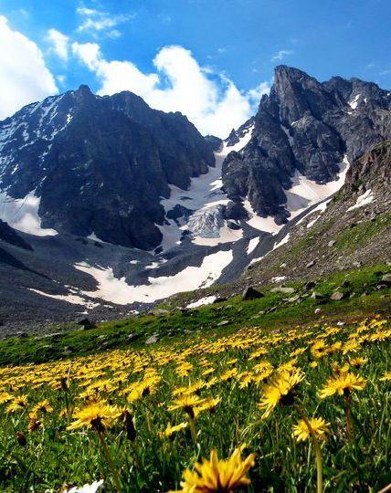 Kackar Mountains in Turkey