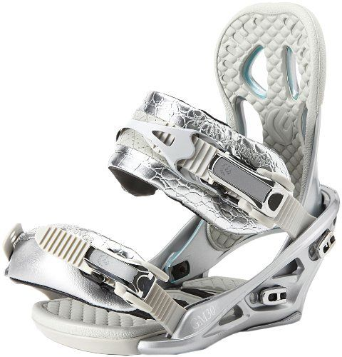 Flux Womens Snowboard Bindings (Silver  , Small),GM30 by Flux Bindings. $182.81. When you push up against your limits, you may find that they suddenly crumble away. Make this happen for you with the help of the Flux WomenAAAs GM30 Snowboard Binding, which delivers the response, balanced flex, and comfort you need to expand your range on the mountain. Go ahead, drop into that chute you've always traversed past, dive into the trees you've avoided, or take some e...