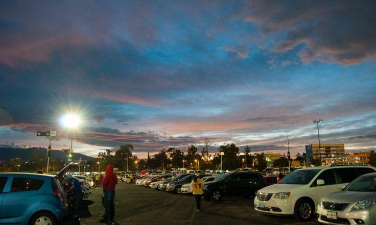 - Aristegui Noticias Vista del atardecer con un cielo a medio nublado hacia el sur poniente de la Ciudad de México. (Foto: Diego Simón Sánchez/Cuartoscuro)