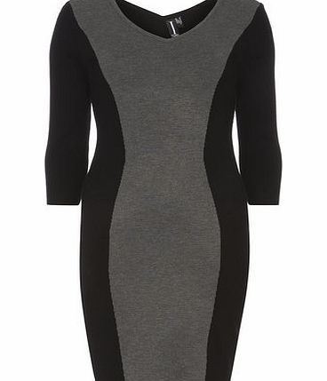 Dorothy Perkins Womens Izabel london Multi Grey Bodycon Dress- Multi grey bodycon knit midi dress with a V neckline 3/4 sleeves and unfastened. Length 88cm. 65% Cotton,35% Polyester. Cold hand wash. Do not dry clean. http://www.comparestoreprices.co.uk/womens-accessories/dorothy-perkins-womens-izabel-london-multi-grey-bodycon-dress-.asp