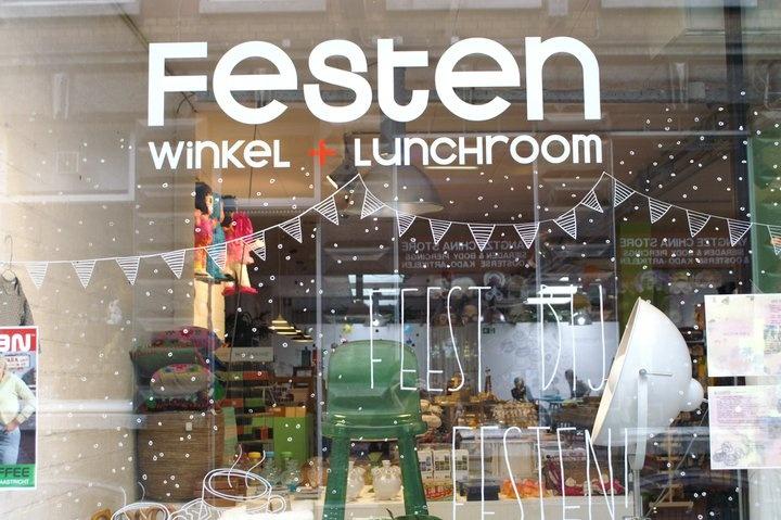 Festen: winkel + lunchroom [Maastricht]