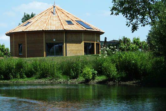 maison ronde et écologique