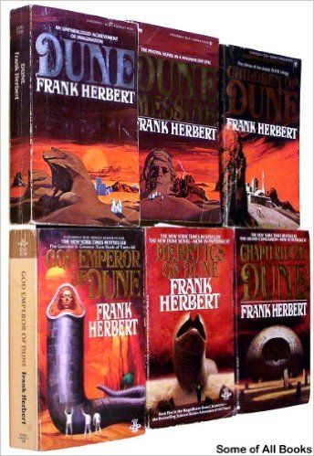 17 best books for odin images on pinterest fantasy books science the dune collection books 1 6 set includes dune fandeluxe Gallery