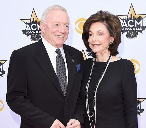 Jerry Jones' wife to serve as his HOF presenter