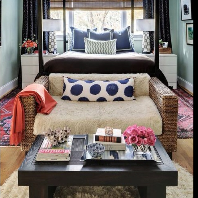 Bedroom Living Room Combo Small Apartment Pinterest