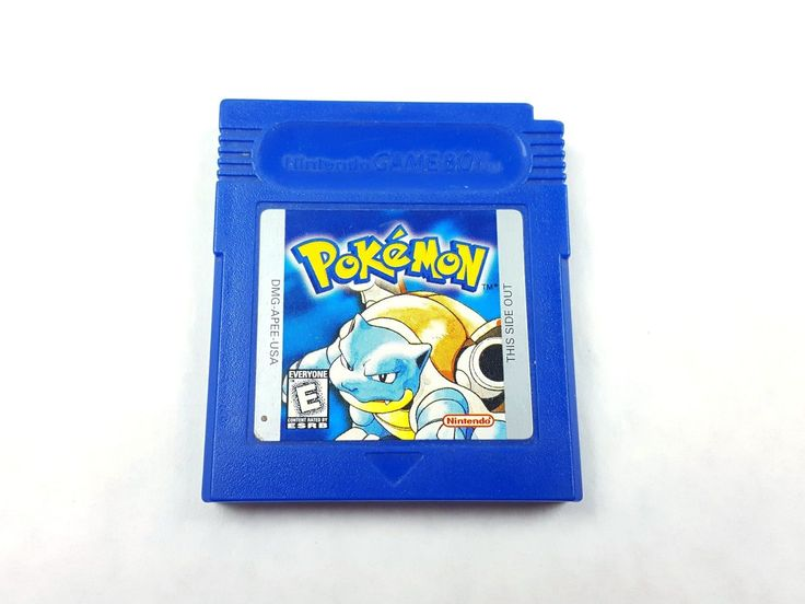 UncleZekes.com - Pokemon Blue Version Nintendo Game Boy Color 1996