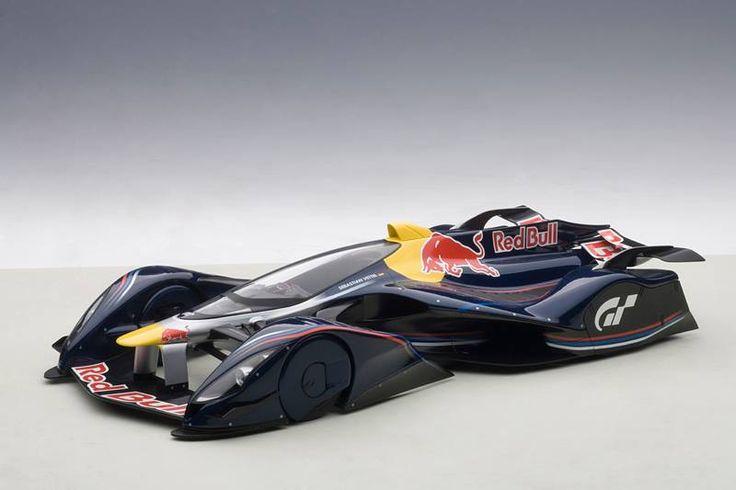 Autos de Competición 1:18 : RED BULL X2014 FAN CAR 1:18 Autoart
