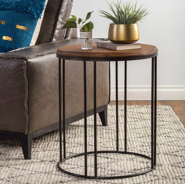 Myhre End Table In 2020 Living Room End Tables Furniture End Tables