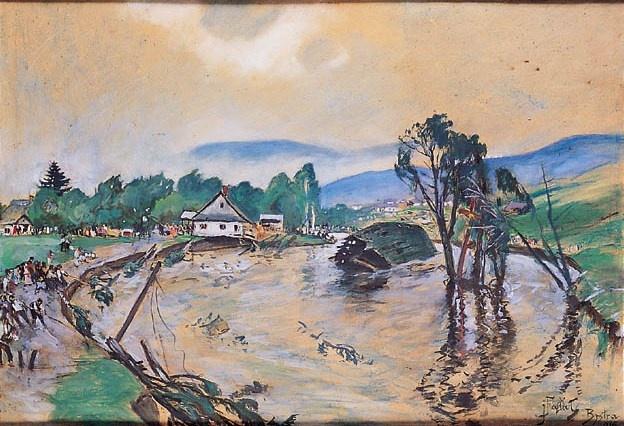 The Flood (Powódź w Bystrej)  1916