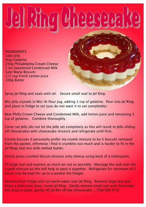 Jel ring cheesecake http://my2.tupperware.com/tup-html/S/sherryrounsville-welcome.html