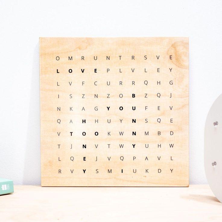 wörtersuche  personalisierbares holzbild  holzbilder