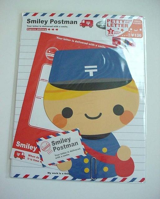 ♥ Mail Man ♥ by Warm 'n Fuzzy, via Flickr