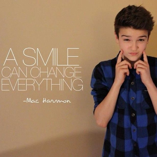 mac harmon #a smile can change everything #harmonators