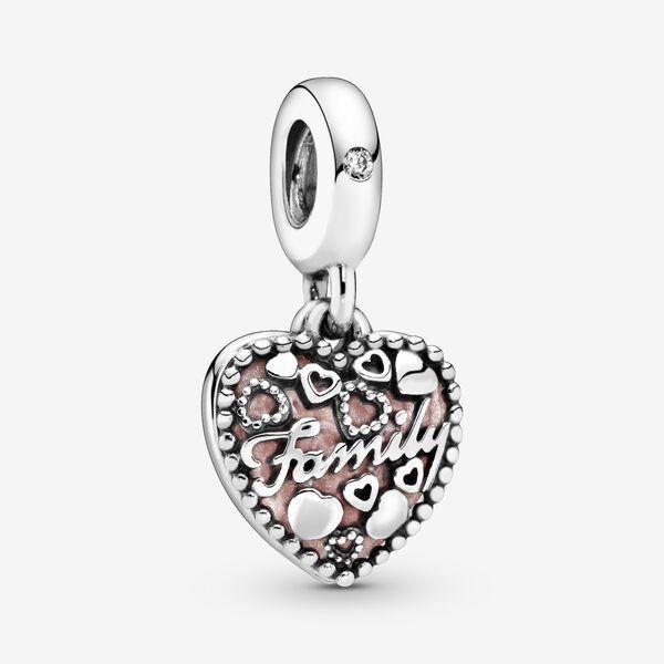 Pandora Love Makes A Family Heart Dangle Charm in 2021 | Pandora ...