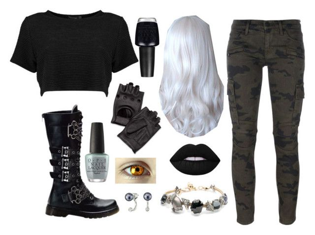 """District 13; Nuclear, Graphite"" by ruthw422 on Polyvore featuring Hudson, Abbey Dawn, J&P, OPI, Alexis Bittar, Sam Edelman, 13, Hungergames and panem"