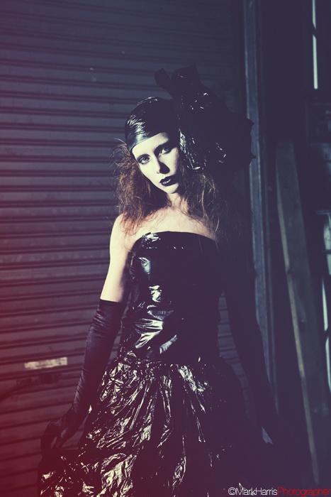 Garbage. Photo: Mark Harris, Model Lena Wurm, Make-up: Ella Volino