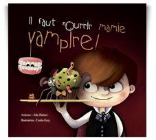 Résumé : Mamie Vampire n'a plus toutes ses dents. À 189 ans, ce n'est pas surprenant … Manger est quand même plus compliqué, pour un vampire édenté. Que devrais-je lui préparer pour le festin que j'ai organisé? Des lézards glacés? Des cafards salés? Ou peut-être une potion à l'oignon? Je pars sans tarder pour découvrir ce qui lui fait vraiment plaisir… | Editions de la Smala