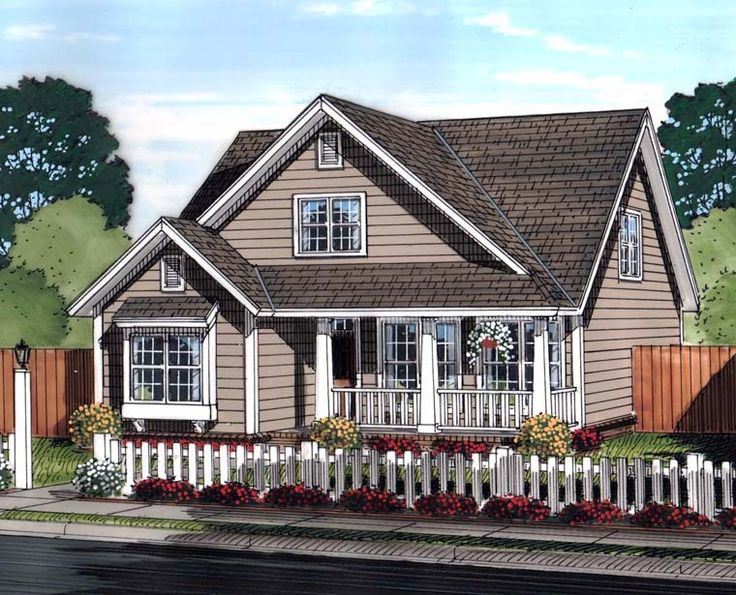 House Plan 61453 | Country   Traditional    Plan with 1597 Sq. Ft., 3 Bedrooms, 3 Bathrooms