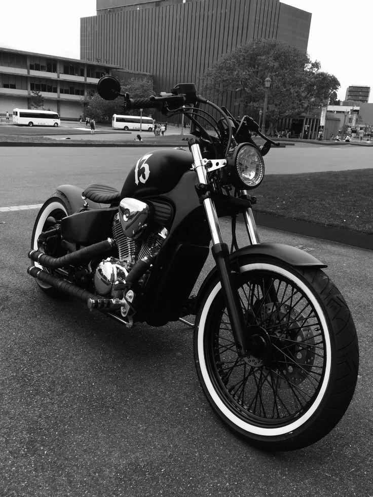 Honda Shadow VLX 600 Bobber #bobber