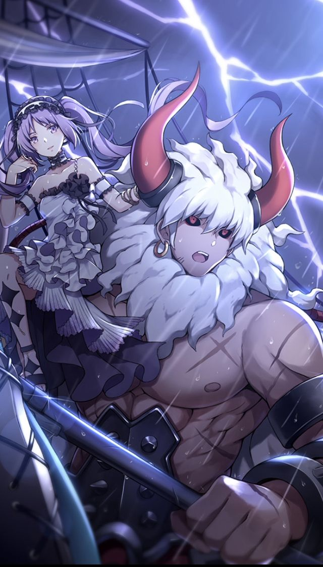 Asterios and Euryale Art Anime, Character design