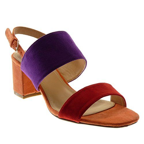 Mode Angkorly Cheville Escarpin Chaussure Ouverte Sandale Lanière Cgq5Frgw