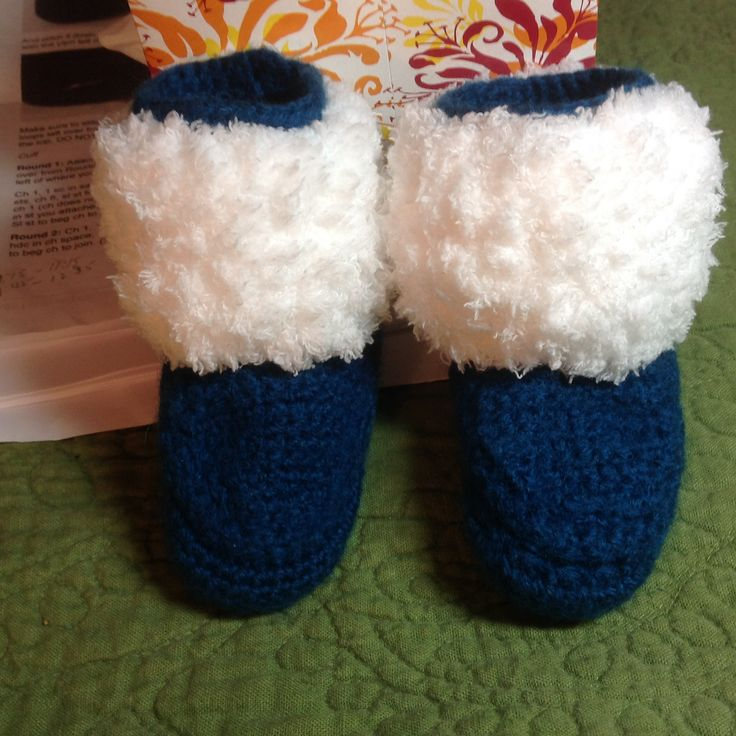 Ravelry: Project Gallery for Baby Moccasins and Mukluks pattern by Ruby Needles. Crocheted by virginiamartinez