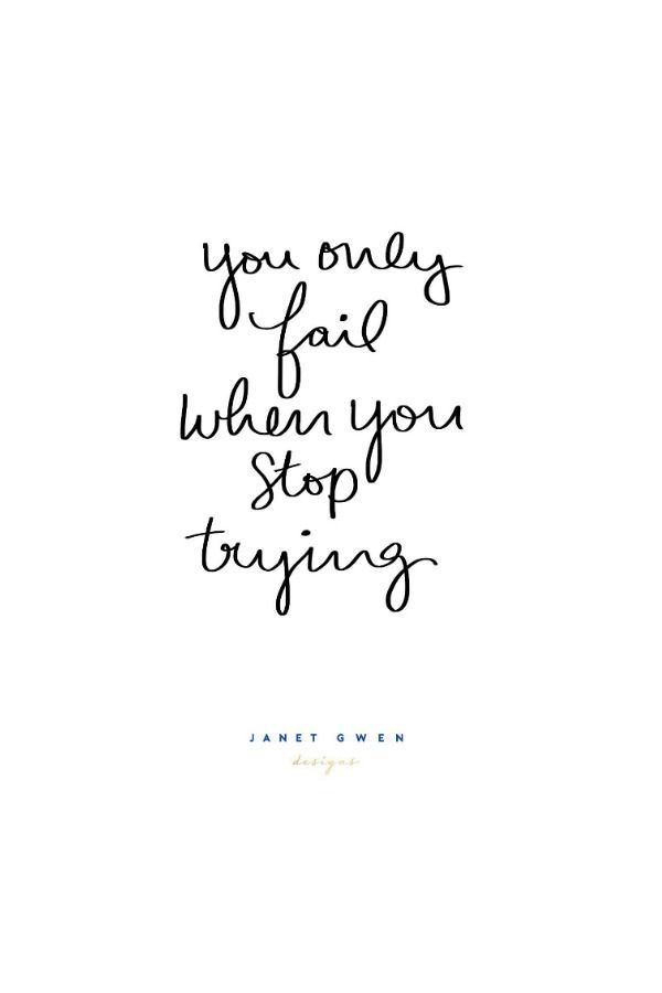 You Only Fail When You Stop Trying iPhone X Wallpaper 639511215815876506 2