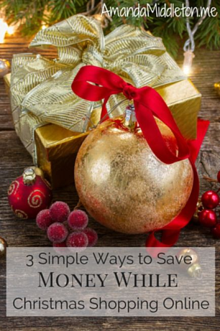 3 ways to save money while Christmas shopping online!
