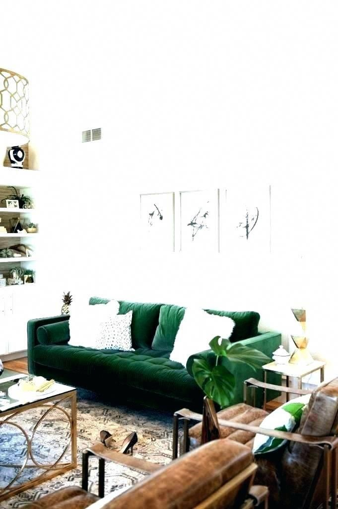 Image Result For Green Leather Sofa Living Room Ideas Green Living Room Decor Dark Green Living Room Living Room Green