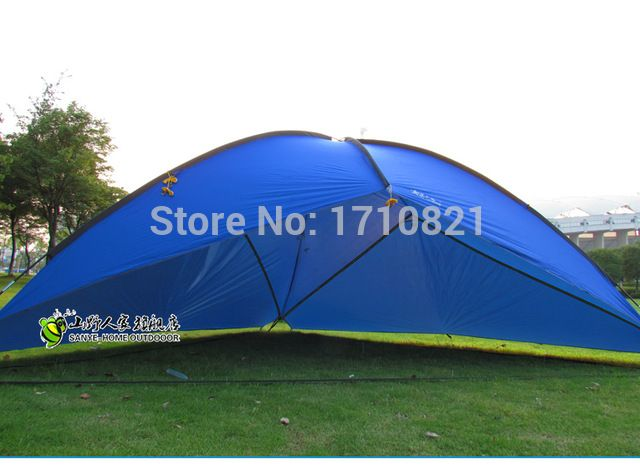 New style good quality 480*480*480*200cm large space waterproof ultralight sun shelter bivvy awning beach tent
