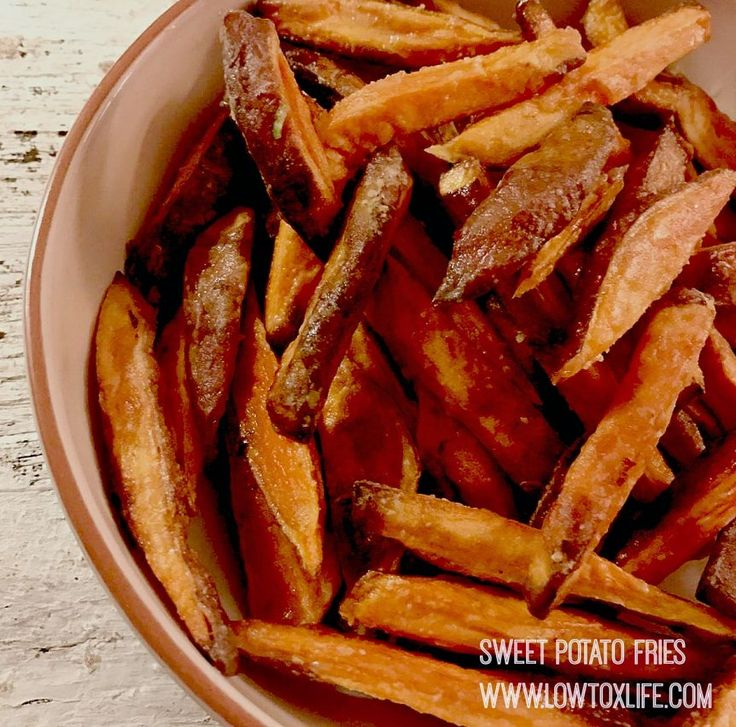 The perfect sweet potato fries – without frying! | Low Tox Life