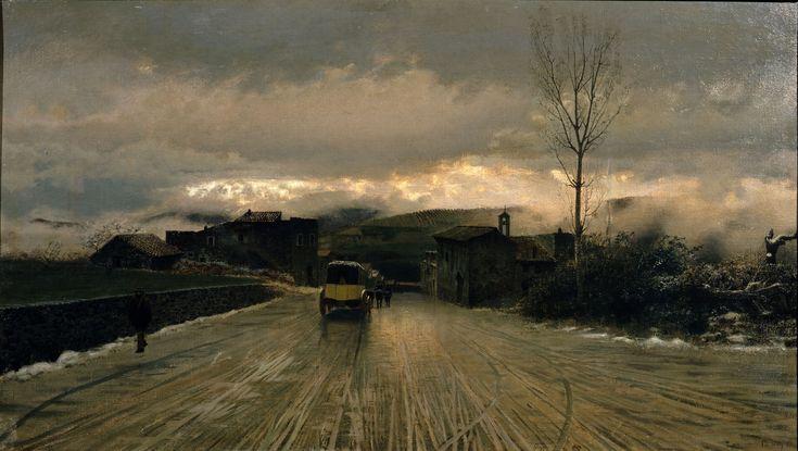 Giuseppe De Nittis – La traversata degli Appennini
