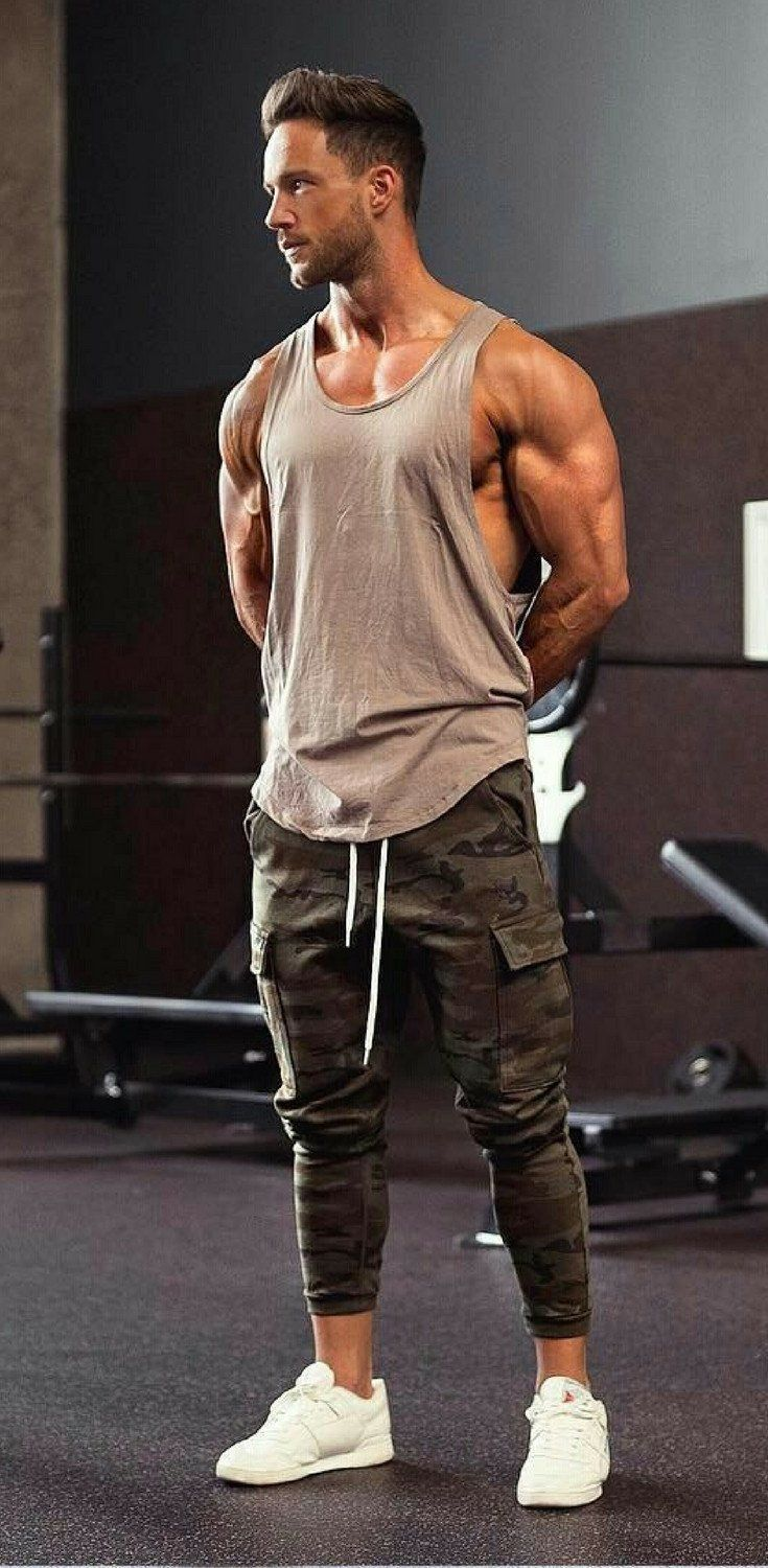 gym outfit ideas for men