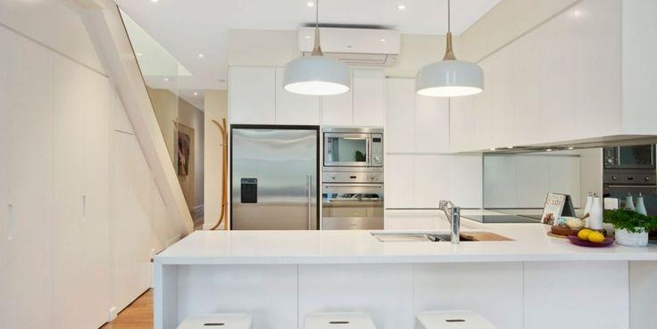 Caeserstone kitchen, blackbutt flooring, reverse cycle air-con