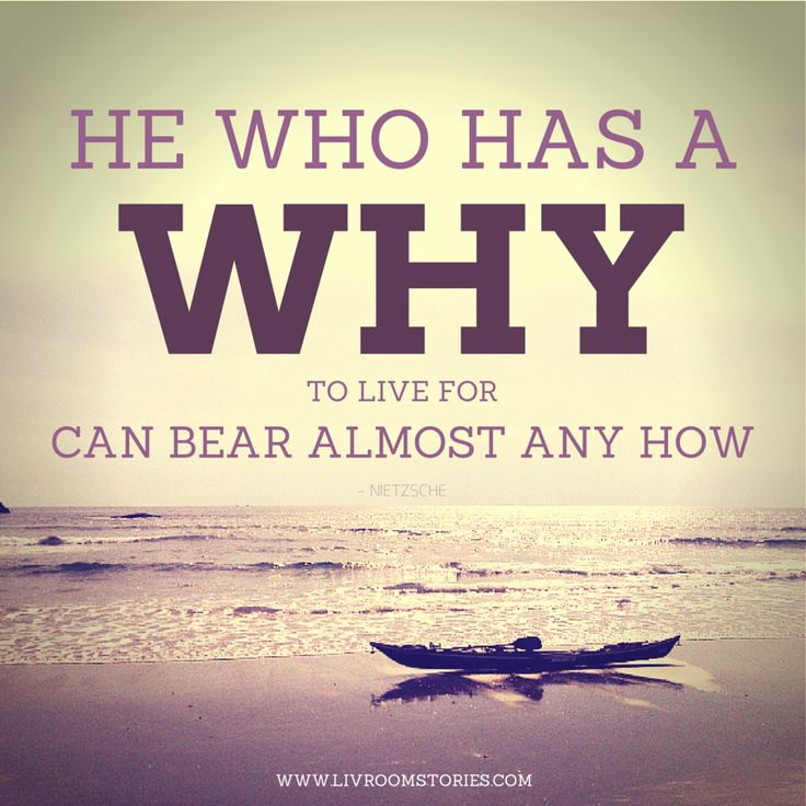 HE WHO HAS A WHY