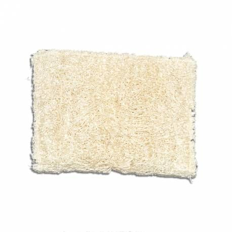 Estropajo natural de luffa, 100% ecológico y natural, es la alternativa para fragar la vajilla y la vitrocerámica sin rayarlas ya que son muy suaves.