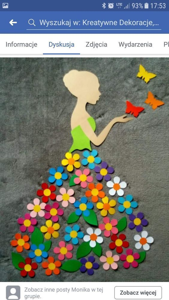 "Pinterest-Idee: ""Spring Lady"" – LocaZil #flowers…"