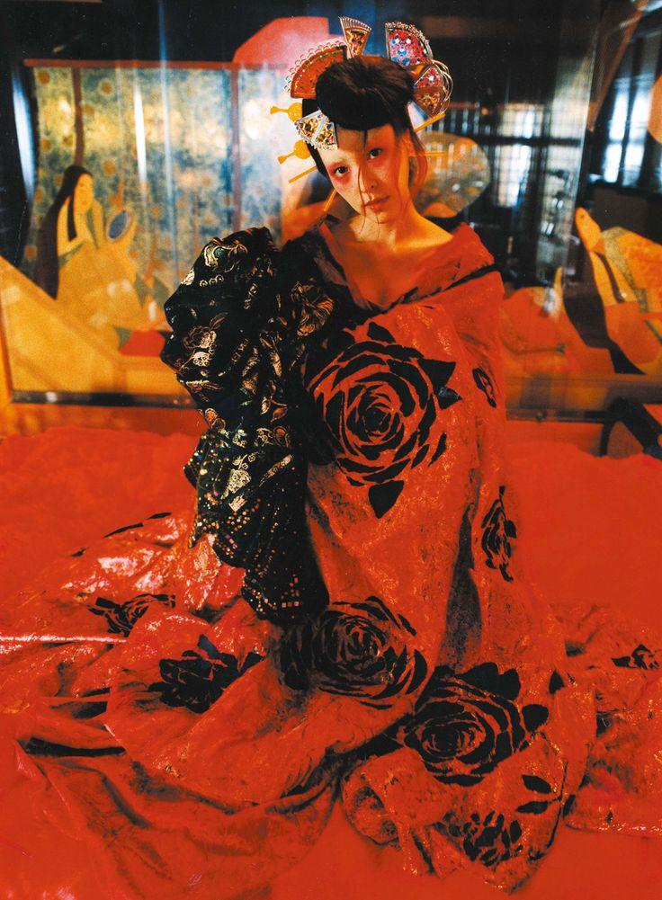 2004「花魅」麻生久美子 WORKS of ART - 清川あさみ ASAMI KIYOKAWA INC.