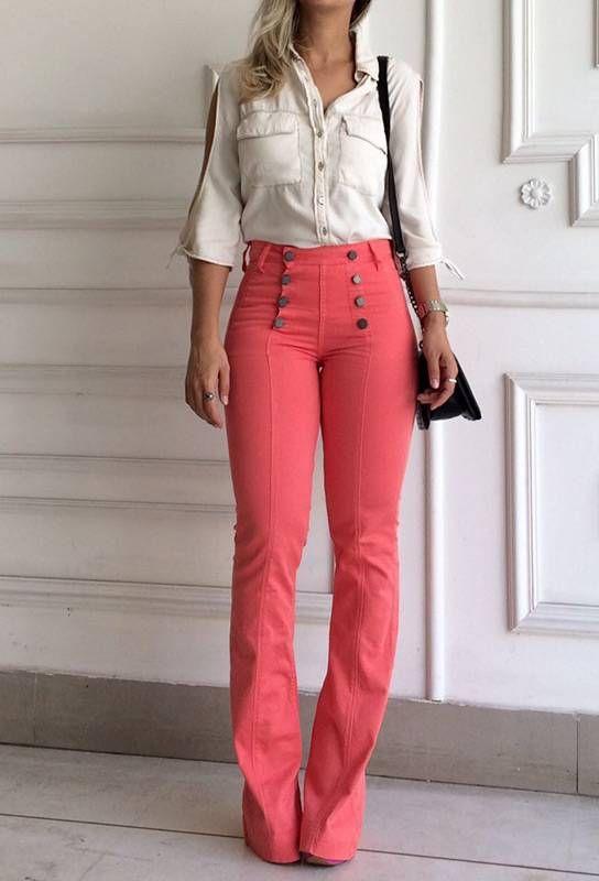 81ec03814 133 melhores imagens de Calças no Pinterest | Meu estilo, Moda ...