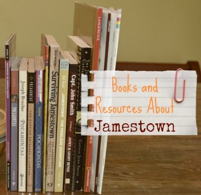 Books and Resources About Jamestown, Pocohantas, and Captain John Smith
